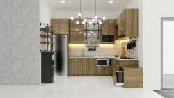 interior dapur industrial modern