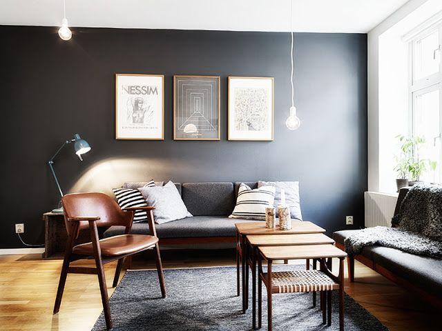 dekorasi interior hitam