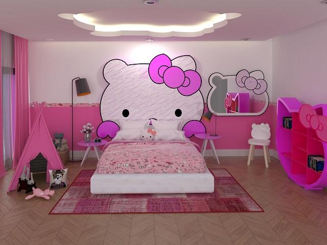 Desain Kamar Tidur Nuansa Pink; Tips Hadirkan Suasana ...