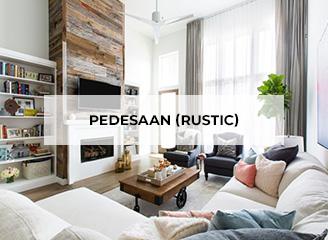 Pedesaan (rustic)
