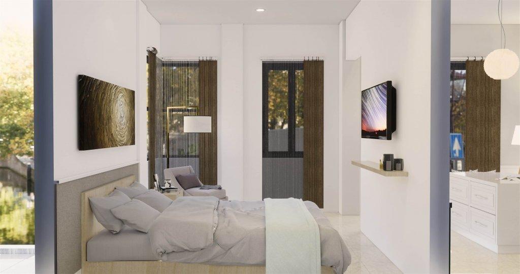Kamar ttidur gaya klasik modern