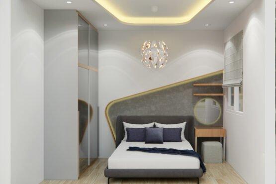 interior kamar tidur utama jakarta barat