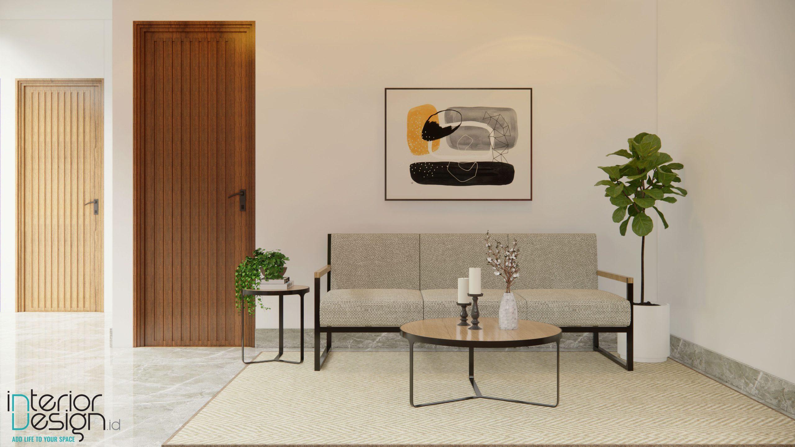 Interior rumah modern tropikal