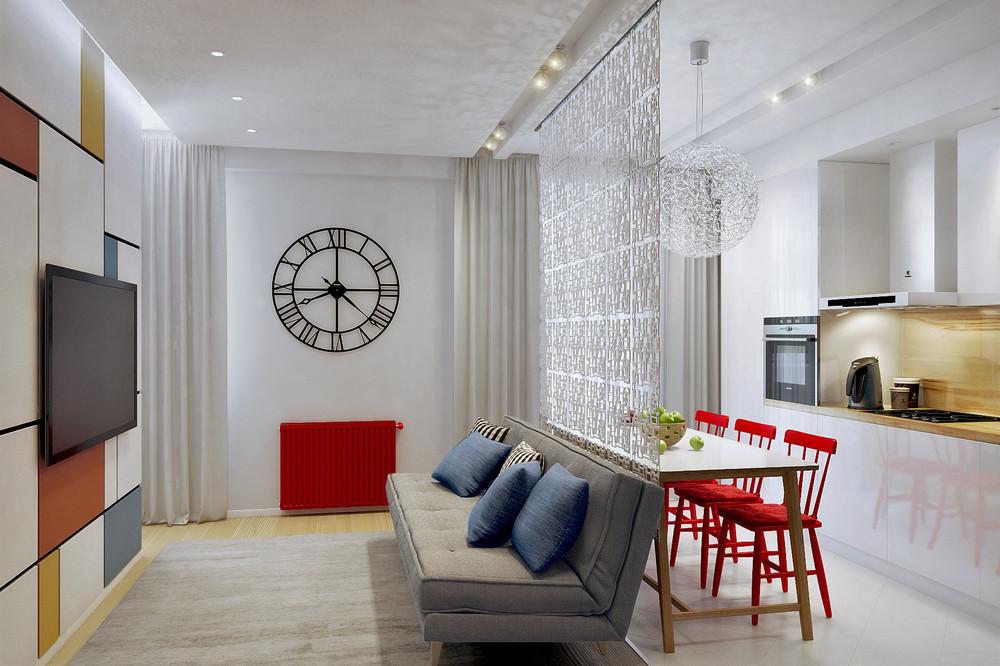 interior apartemen kecil dan keren