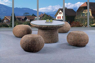 furniture berbahan rotan
