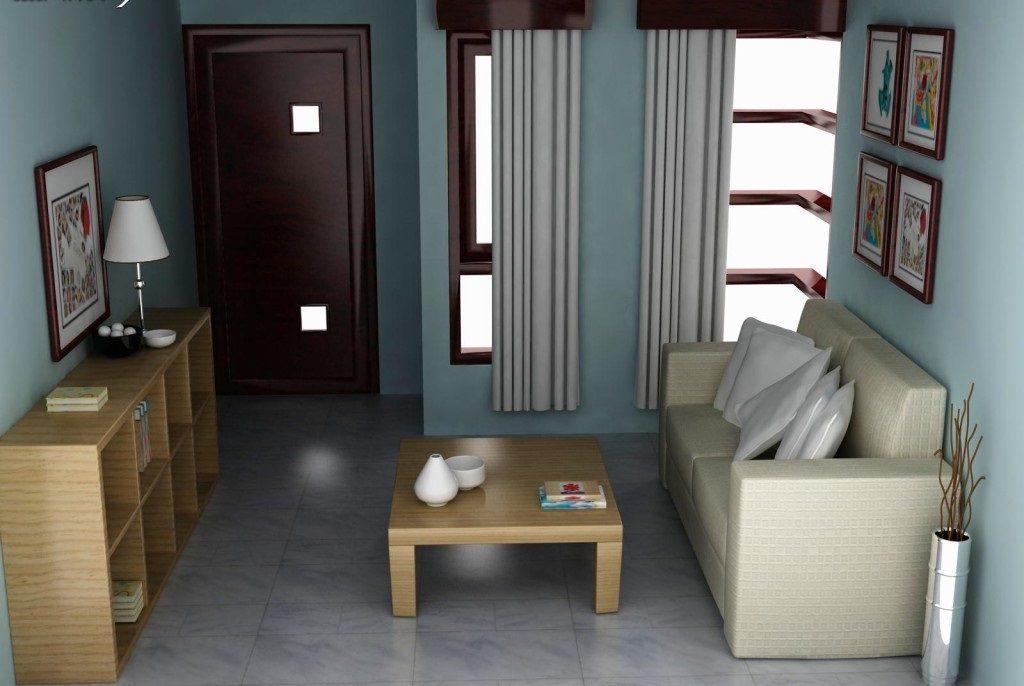 interior ruang tamu rumah minimalis type 36