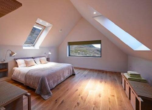 kamar tidur loteng rumah