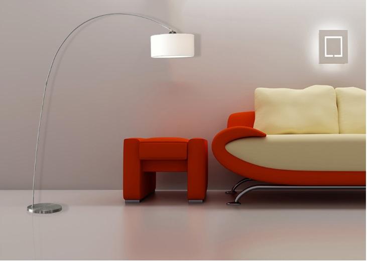 model lampu lantai atau floor lamp