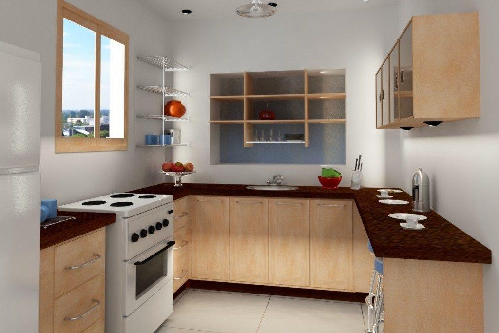 interior dapur rumah minimalis type 36