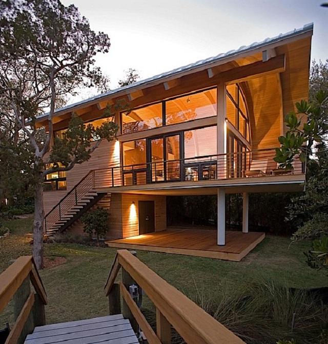 rumah pohon 3 - Desain Rumah Pohon yang Super Mewah