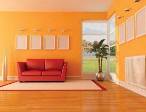 17 dekorasi ruangan dengan menggunakan cat warna-warni