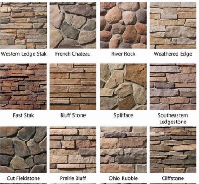 jenis dinding batu