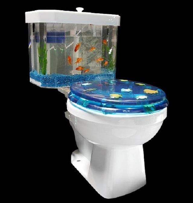 toilet akuarium