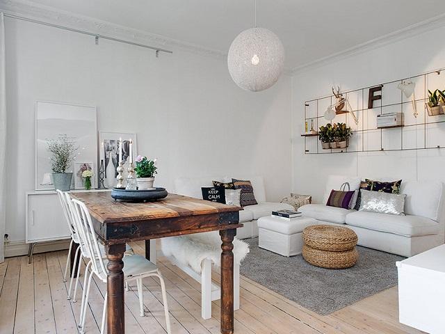 desain ruang makan dan ruang keluarga dalam konsep open space