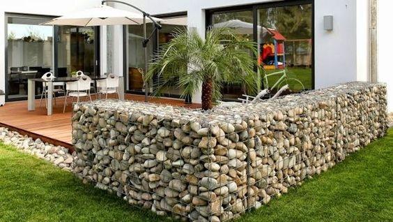 pagar rumah batu alam