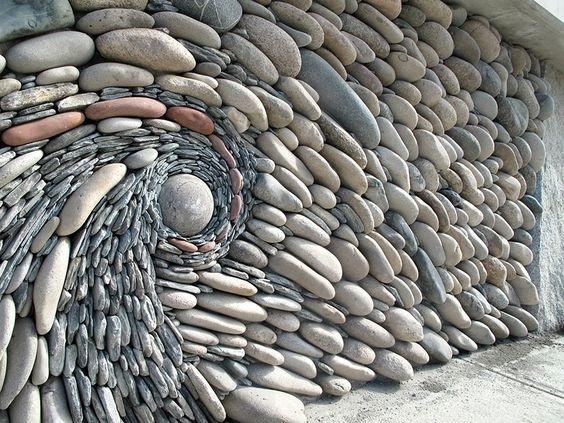 dekorasi dinding rumah dari batu alam