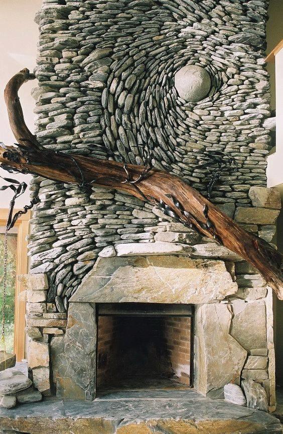 dekorasi batu alam