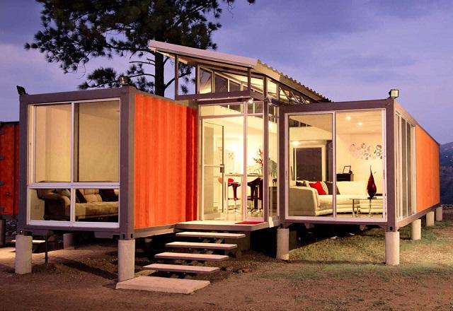 desain rumah kontainer