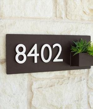 diy: 4 cara mudah & murah dekorasi nomor rumah yang sesuai