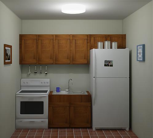 pencahayaan ruangan