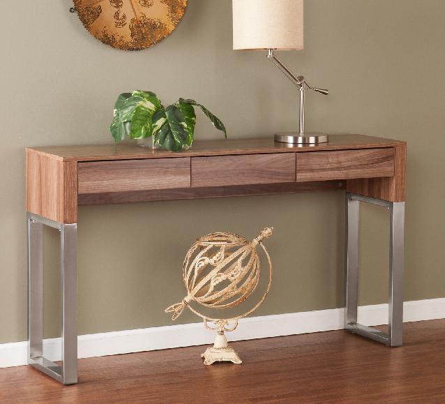 meja konsol atau credenza rancangan IKEA