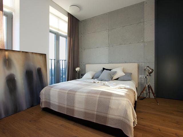 desain ruang tidur maskulin
