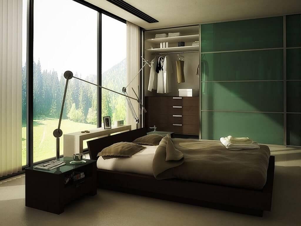 penataan ruang, pilihan warna cat interior