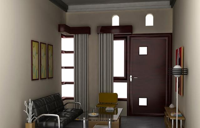 11 Foto Contoh Desain Ruang Tamu Minimalis Rumah Kecil ...