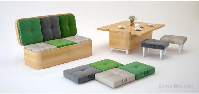 cara menata ruamh agar rapi dan bersih dengan penggunaan furniture fungsi ganda