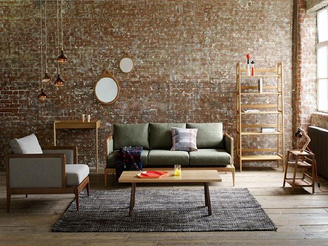 interior apartemen gaya industrial kontemporer