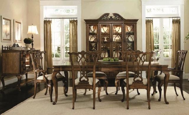 gaya desain interior amerika kolonial