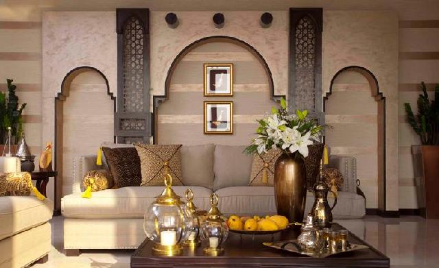 gaya desain interior Arab