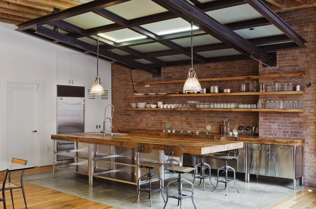 desain dan layout dapur ala cafe