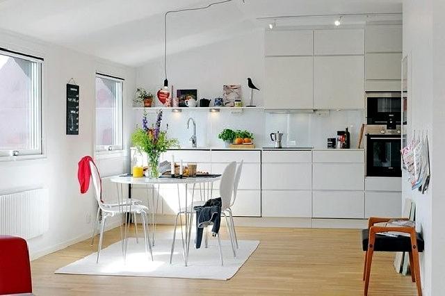 desain dapur skandinavia