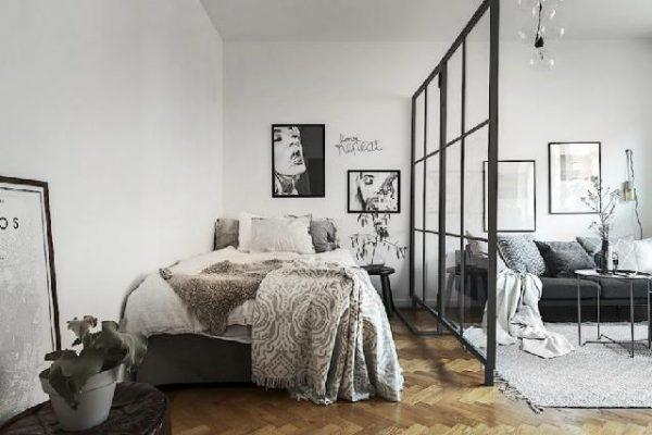 5 Desain & Cara Kreatif Bagaimana Memisahkan Area Kamar Tidur dengan