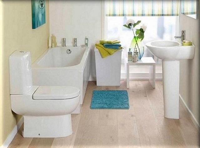 interior kamar mandi kecil
