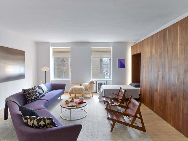 interior apartemen gaya art deco