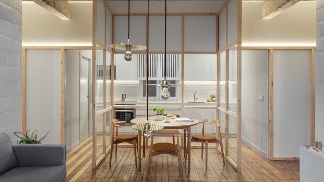 inerior apartemen studio