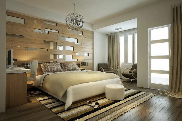 13 Desain Kamar Tidur Utama Bergaya Modern Rustic Yang Nyaman