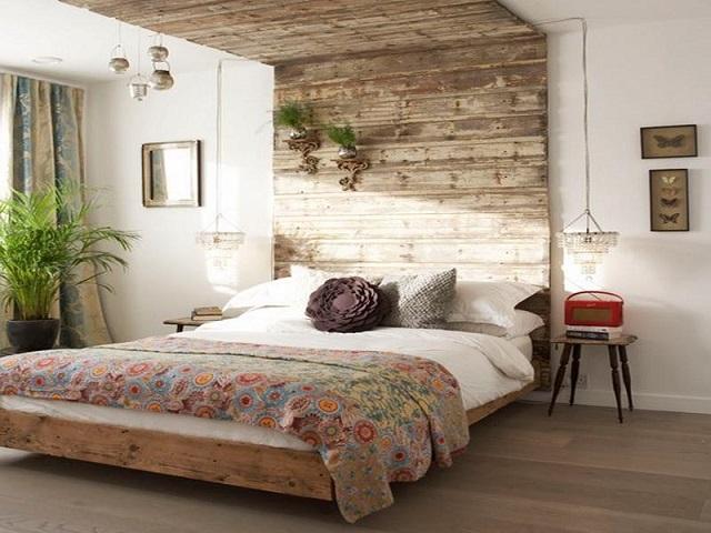 13 desain kamar tidur utama bergaya modern rustic yang