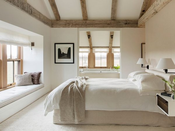 13 Desain Kamar Tidur Utama Bergaya Modern Rustic Yang Nyaman Elegan