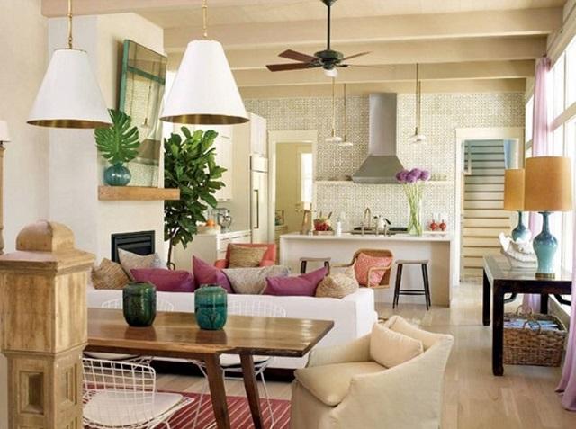 tren warna cata interior rumah