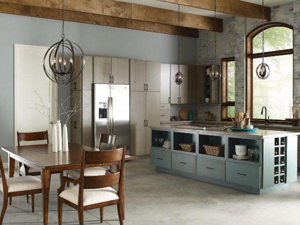 10 Desain Lampu Dan Pencahayaan Yang Artistik Untuk Ruang Dapur