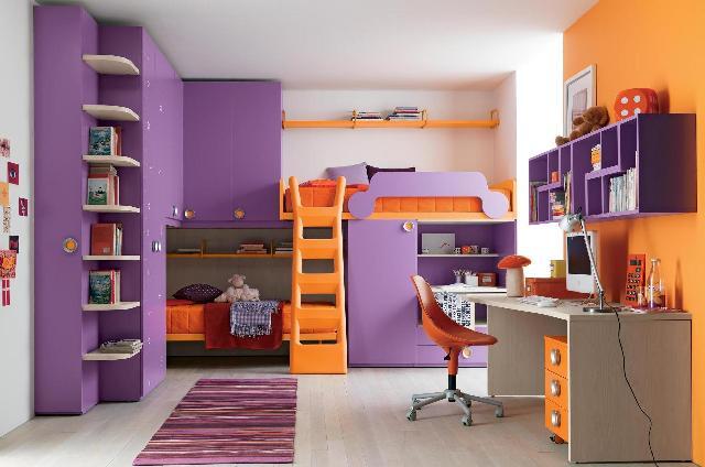 contoh penggunaan skema warna komplementer