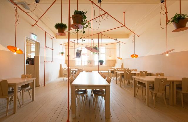 desain interior mini cafe