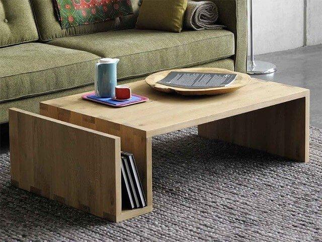 meja ruang tamu