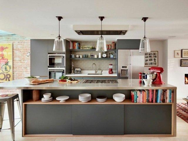 Desain Meja Dapur Island  kitchen island dapur mewah dengan kenyamanan yang sempurna