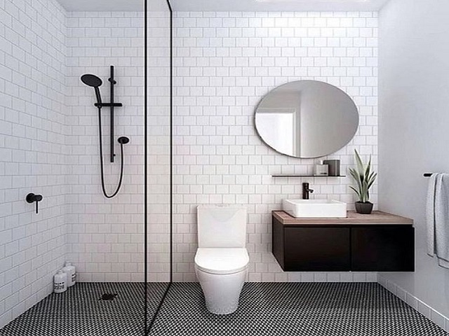 Perfeksi desain kamar mandi visualisasi desain modern for 5x7 bathroom remodel ideas
