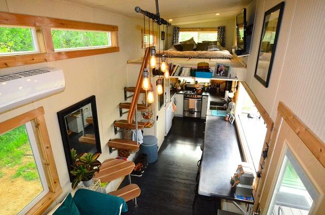 desain rumah kecil, tiny house movement