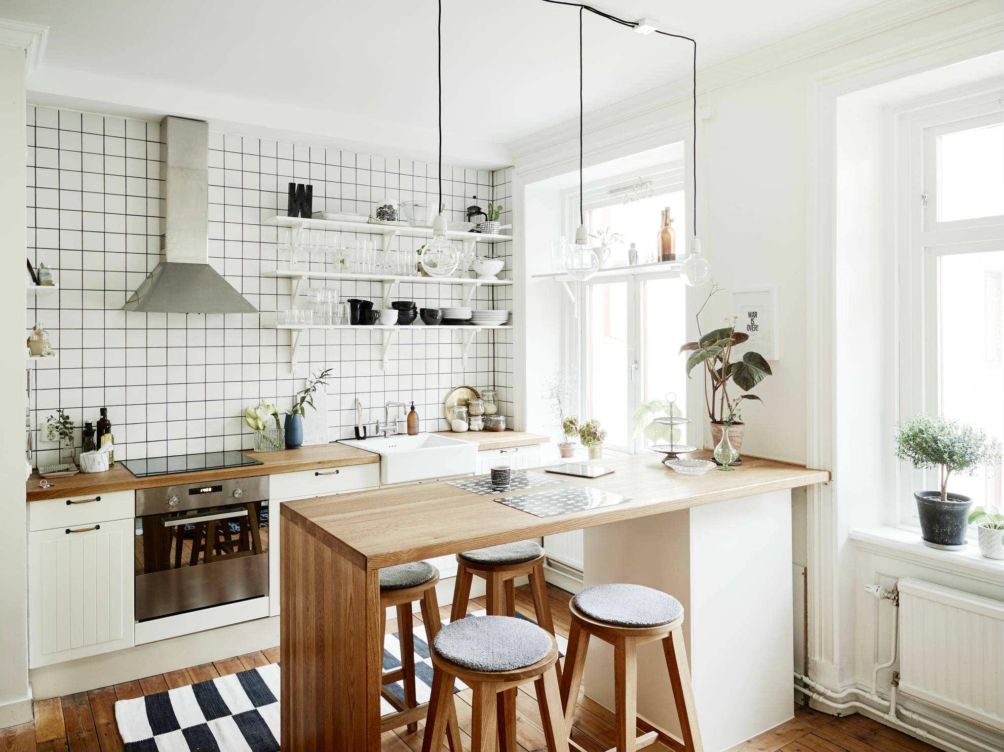 Hasil gambar untuk Kombinasi Dapur Minimalis dan Skandinavia